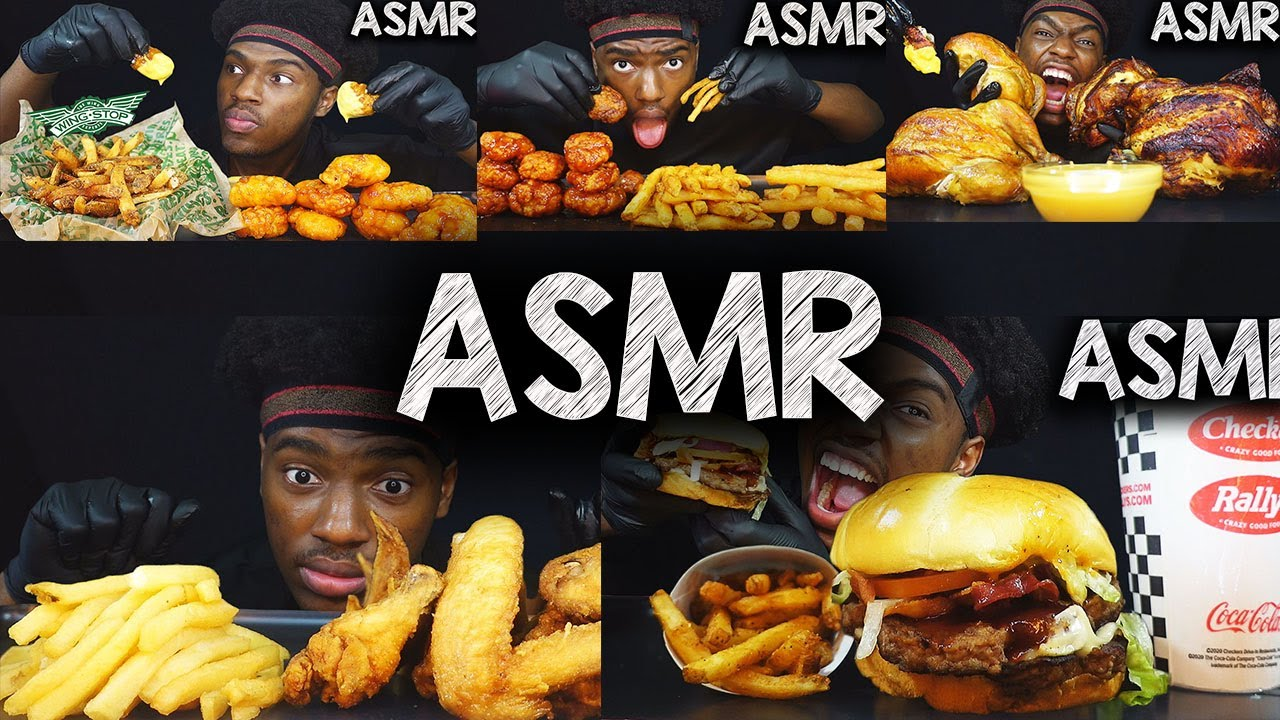 ASMR EATING COMPILATION | KEVO ASMR
