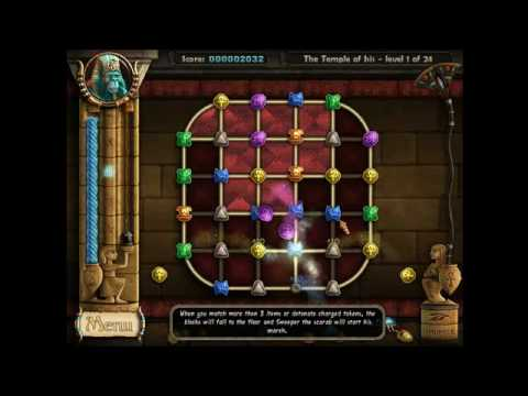 Ancient Quest of Saqqarah | Windows-PC | Gameplay: Der Isis Tempel | Level 1-3