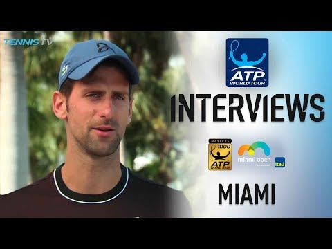 Djokovic Finding New Inspiration In Miami 2018