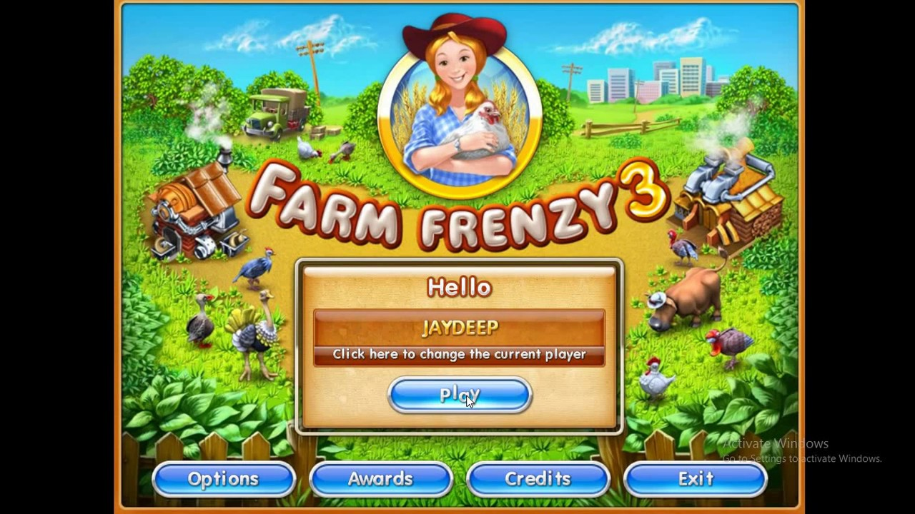 how to hack farm frenzy (IN PC)