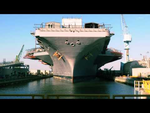 Time Lapse: USS Abraham Lincoln (CVN 72) Arrival