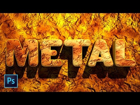 Create Amazing Metal Rust and Stone Textures Photoshop Tutorial