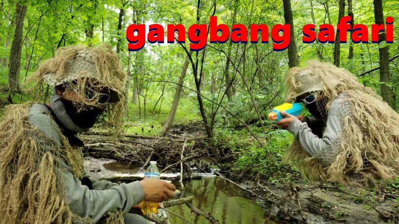 Gangbang Safari Adventure featuring Frederick Zatsgei