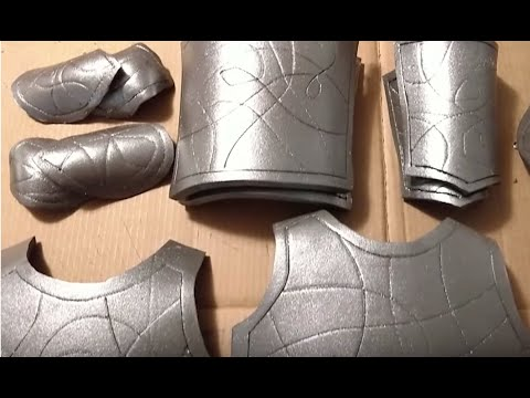 DIY Foam Armour Halloween Costume