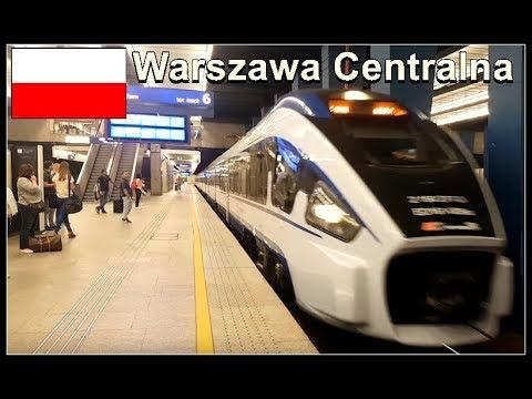 Warsaw Train Station / Warszawa Centralna, Poland August 2017