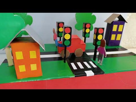 Макет дороги для детского сада своими руками фото