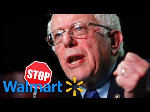 Bernie Sanders Now Pressuring Walmart to Raise Workers' Wages