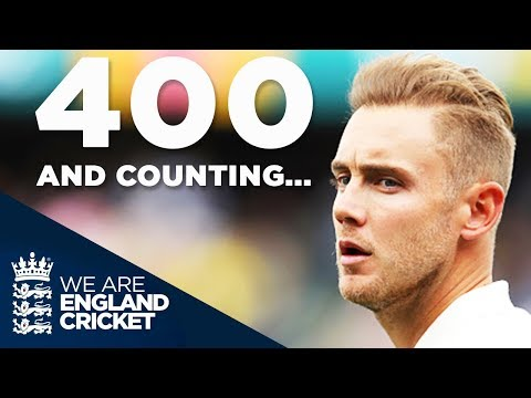 Stuart Broad: 400 Wickets And Counting...