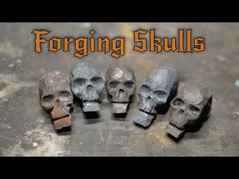 How to Forge a Human Skull - Forging Techniques for Beginners