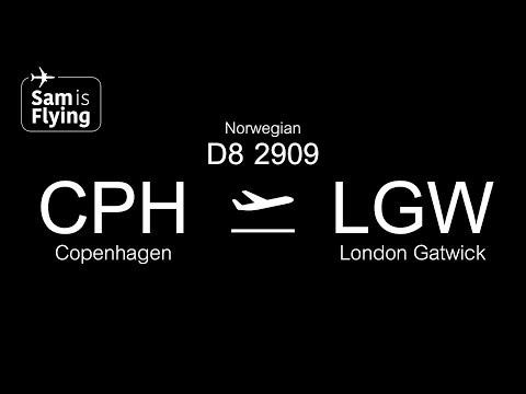 Flight Review | Norwegian | D82909 | Copenhagen to London Gatwick