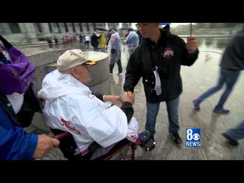 90 Year Old Nazi Slayer Finds Closure Through Honor Flight