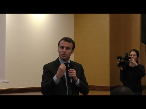Emmanuel Macron Calls For Euro-Zone Budget