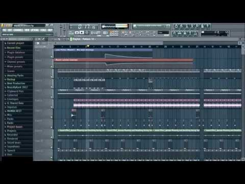 Uhuru style House beat in FL Studio (+FLP)