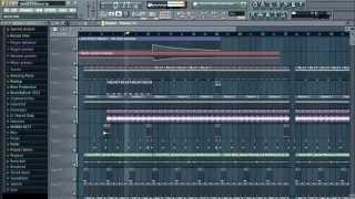 Uhuru style House beat in FL Studio (+FLP)