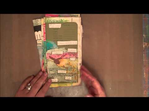 DeConstructed Art Journaling Swap Group #30