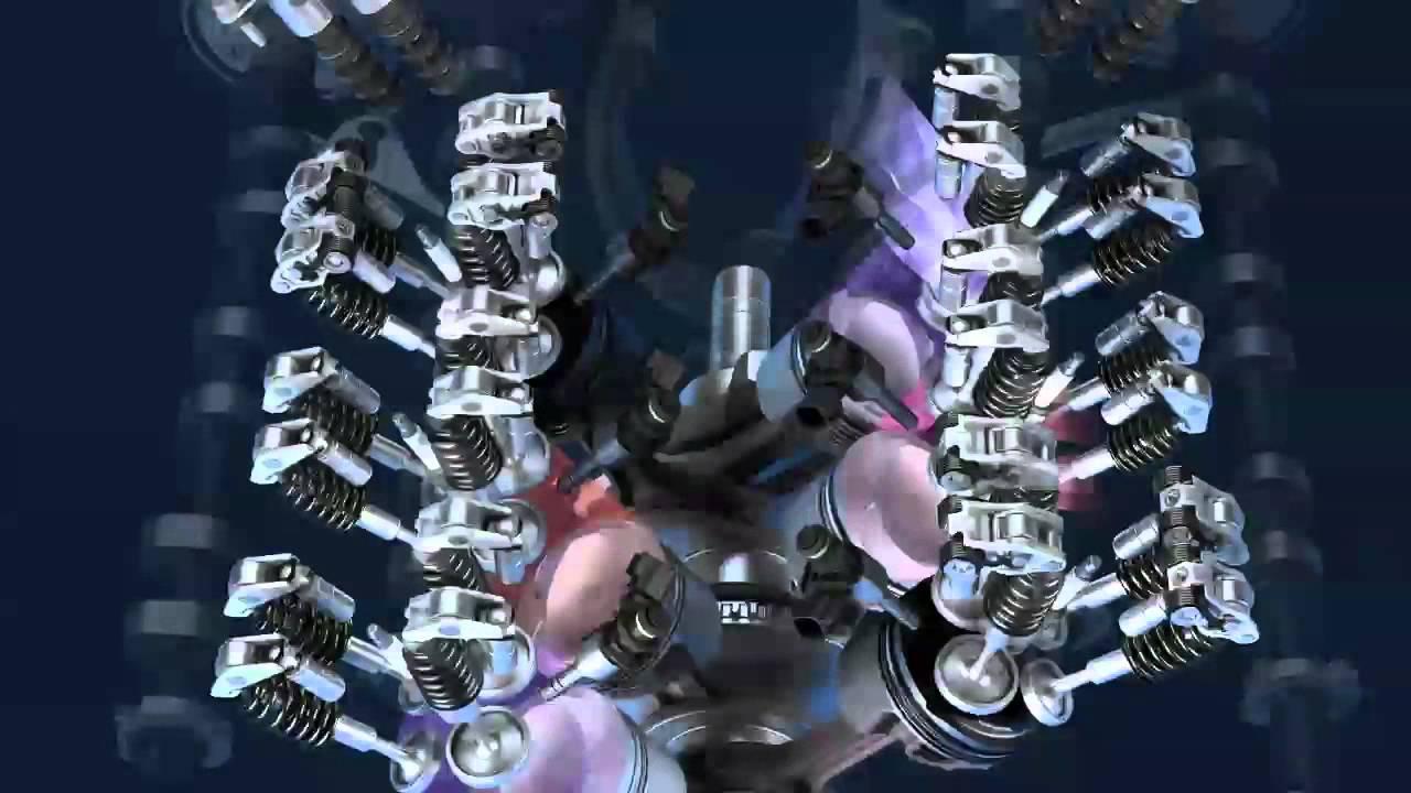 3 6 LGX V6 engine - YouTube