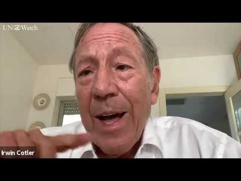 Professor Irwin Cotler on Iran's election to UN women's rights commission