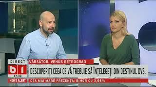 HOROSCOP 360 GRADE CU ALINA BADIC, ZODIA VARSATOR, SAPT 6 OCT - 13 OCT 2018