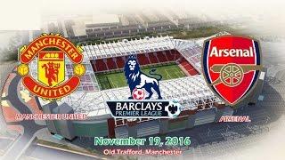 Manchester United Vs Arsenal 1-1 All Goals & Highlights 19/11/2016 | Premier League 2016/2017