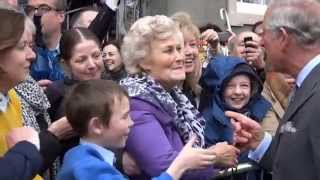 The Prince of Wales and The Duchess of Cornwall visit Ireland