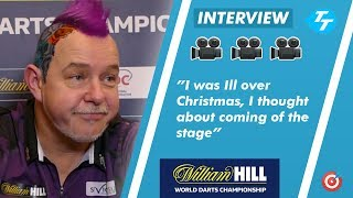 Peter Wright 'Felt like Coming Off Stage' due to Illness after thrilling match with Jeffrey de Zwaan