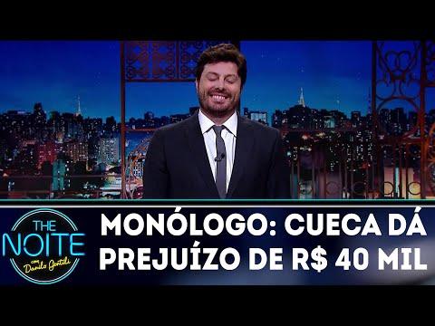 Monólogo: Cueca dá prejuízo para piloto | The Noite (22/03/18)