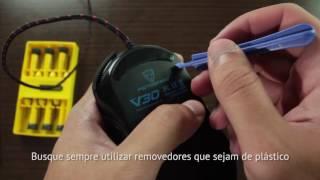 Como abrir um mouse sem danificá-lo?