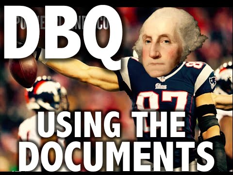 How To Write A Dbq Using The Documents 2020 Apush Exam Youtube