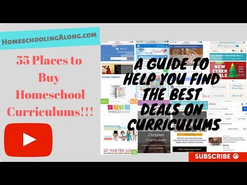 55 Places to Buy Homeschool Curriculum - Homeschooling Along