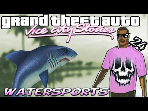 GTA VCS [:24:] ALL Watersports Time Trials [100% Walkthrough]