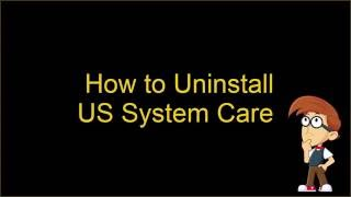 Uninstall US System Care (Guide)