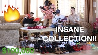 INSANE SNEAKER COLLECTION 2017!!! *$100,000*