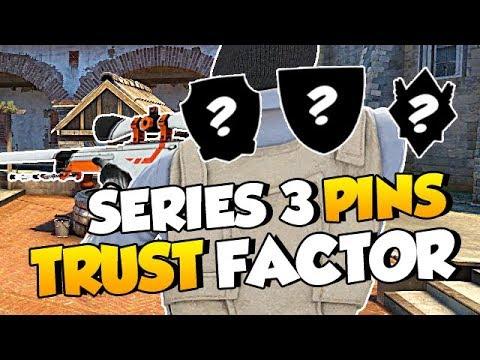 CS:GO Update: Series 3 Pins Revealed • Trust Factor Update • Audio Improvements