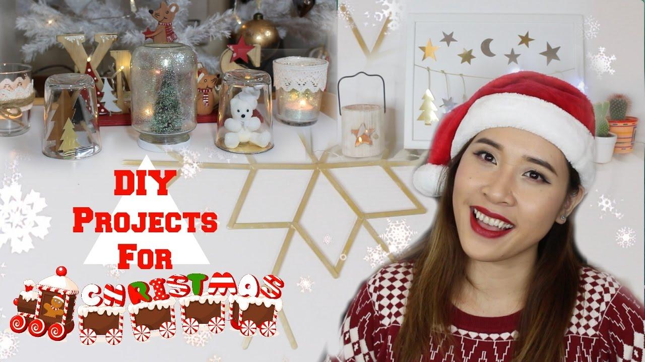 Tự làm đồ trang trí Noel – DIY projects for christmas 2016 ♡Truc's hobbies♡