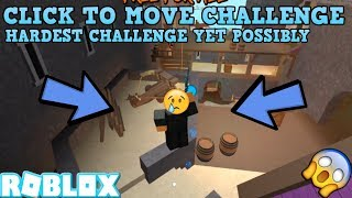 CLICK TO MOVE CHALLENGE! (ROBLOX ASSASSIN HARDEST CHALLENGE EVER) *PLAYING WITHOUT MY LEFT HAND*