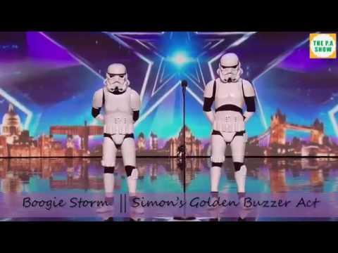 Stormtroopers bailando pasito perron :v