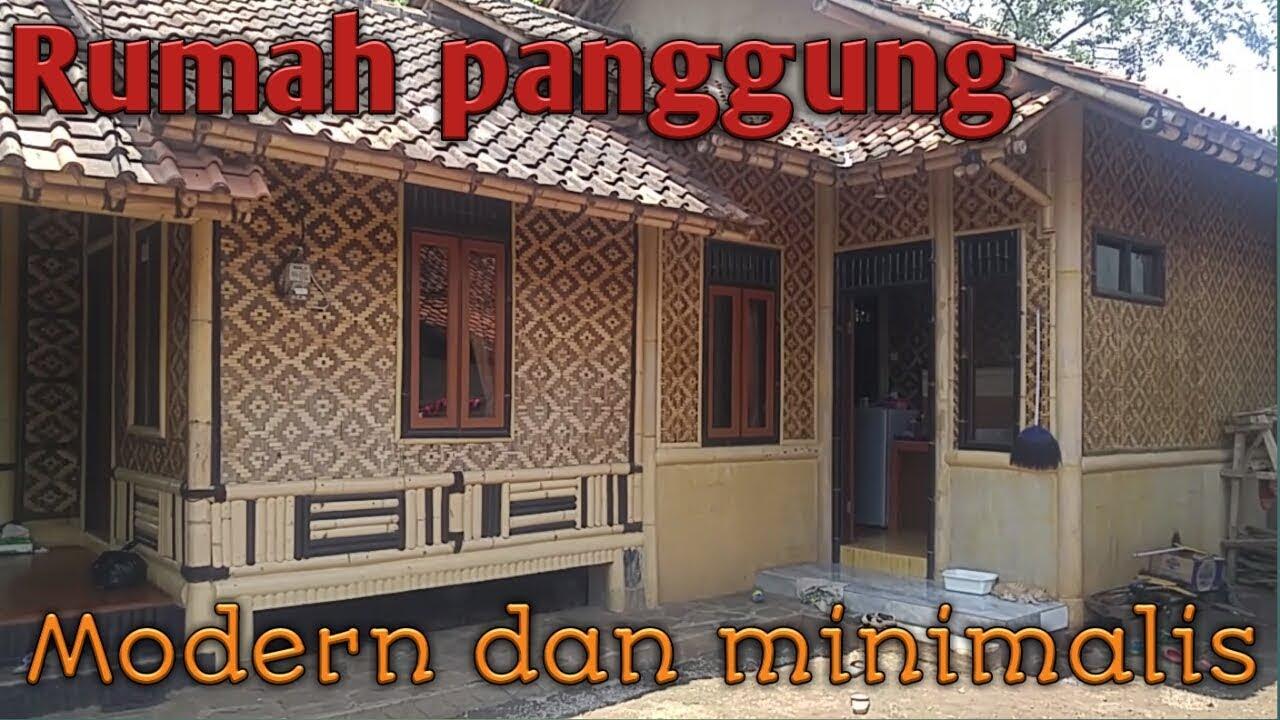 Rumah Panggung Modern Minimalis Youtube