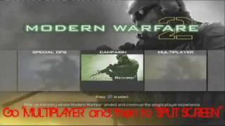 New Free Modern Warfare 2 Unlock Everything Hack Glitch PS3 and Xbox 360