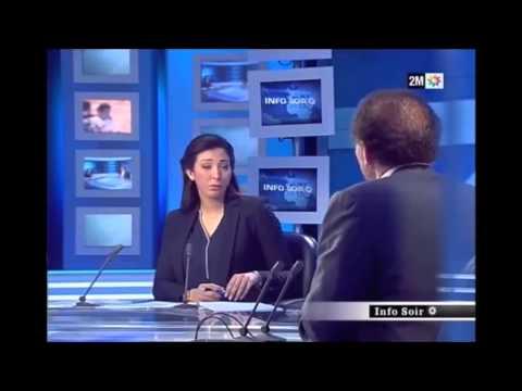 Interview dans Info Soir sur 2M [13.02.2015]