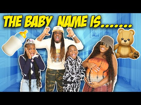 OUR BABY'S NAME REVEAL...