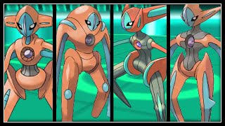 FULL DEOXYS FORMS TEAM!
