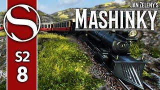 #8 Mashinky - Mashinky Gameplay [Metal Works]