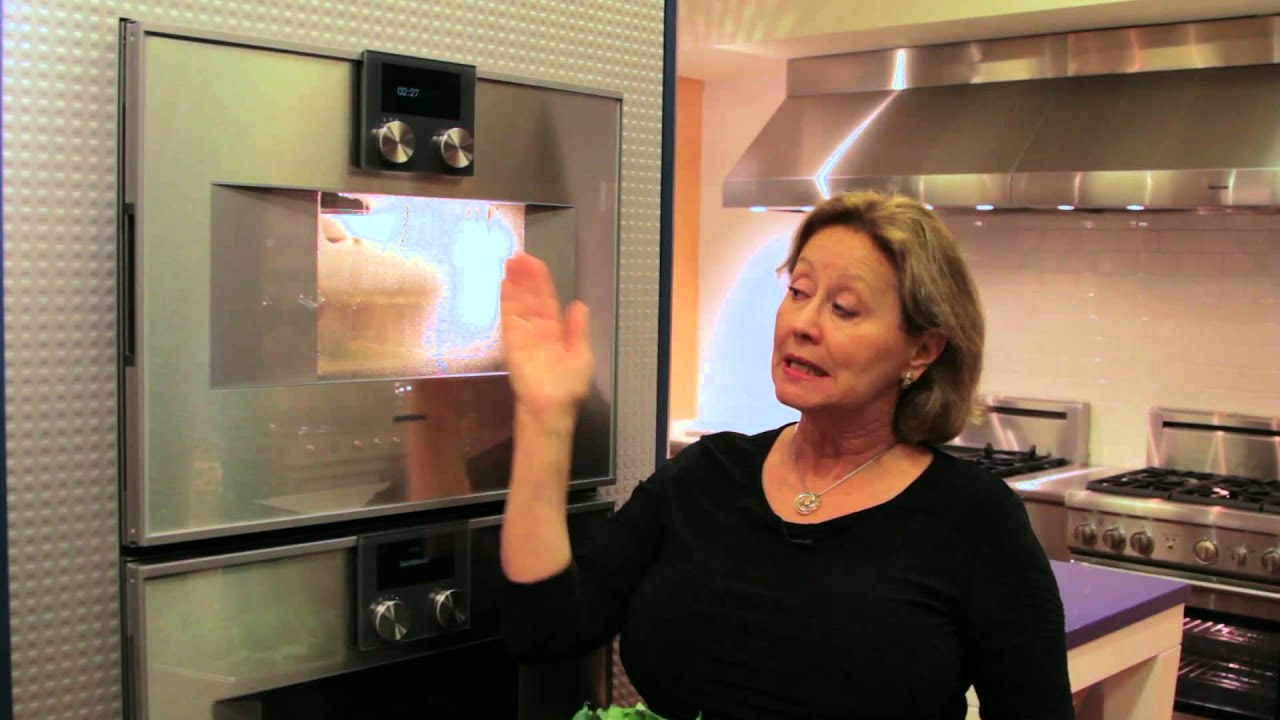 steaming in the gaggenau combi steam oven