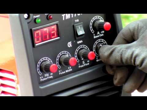 Аргонов заваръчен апарат TIG/WIG TECNOMEC PULSER HF 150 A DIGI #Q7DVUfNSnLA