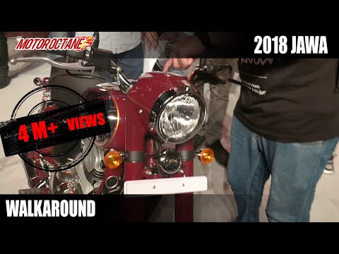 2018 Jawa Launched | Walkaround Review | Hindi | MotorOctane