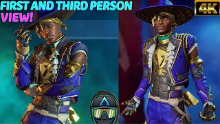 """New Apex Legends Seer Launch Bundle Legendary Heartthrob Skin In Game With All Emotes! """"#4K\"""