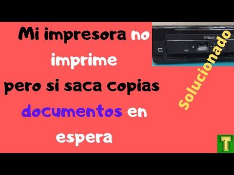 NO IMPRIME MI IMPRESORA CANON , IMPRESORA  EN COLA DE IMPRESIÓN,DOCUMENTOS EN ESPERA SOLUCION # 1