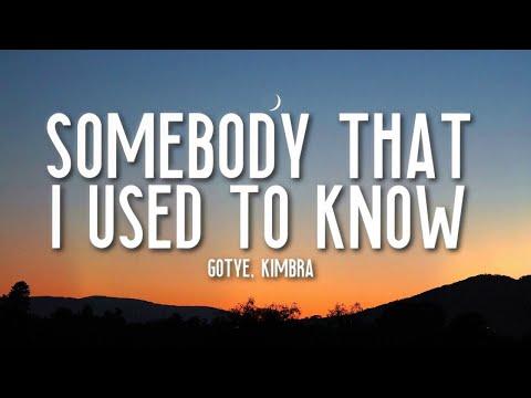 Somebody That I Used To Know - Gotye (Lyrics) Ft. Kimbra