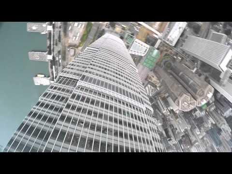 Drone FPV QAV210 Aerial Footage @ IFC Hong Kong