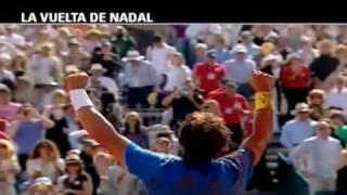 Nadal's return